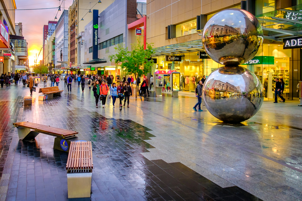 Rundle Mall. Adelaide